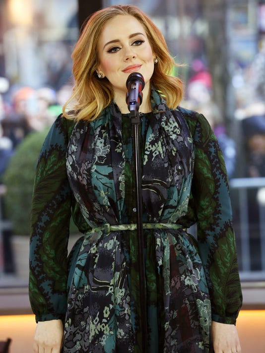 AP PEOPLE ADELE A ENT USA NY