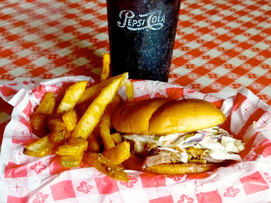 Avery's in Springerville sells St. Louis style ribs. Or try the Crazy Carolina sandwich, pulled pork with a lively vinegar-pepper based sauce topped with coleslaw and cradled on a toasted potato bun.