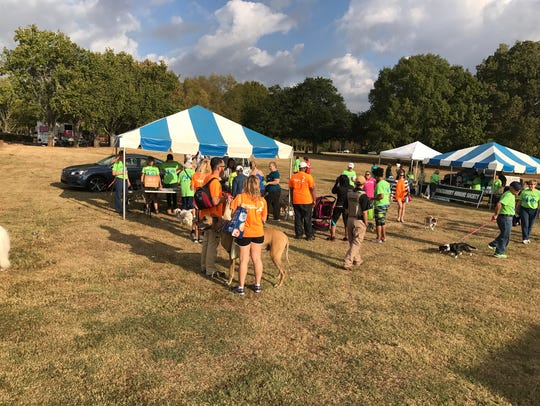 Scenes from the 2016 Walk N Wag event at Blount Cultural