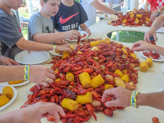 The seventh annual Crawfish Boil benefitting the Pike
