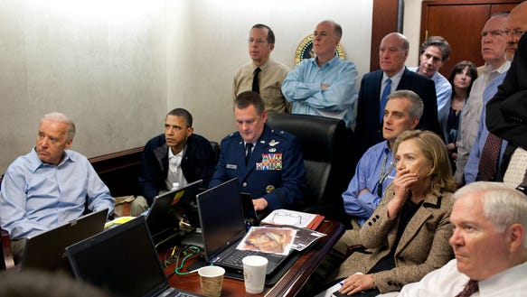 Obama Osama Situation Room