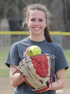 Random Lake softball player Cathryn Hiller is this week's senior spotlight.
