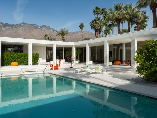The house's current owner, Lee Kapelovitz, often covered the pool with floorboards to host backyard events, Schwietz said. The space can hold around 300 people.