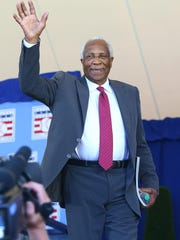 Hall of Famer Frank Robinson, the first black manager