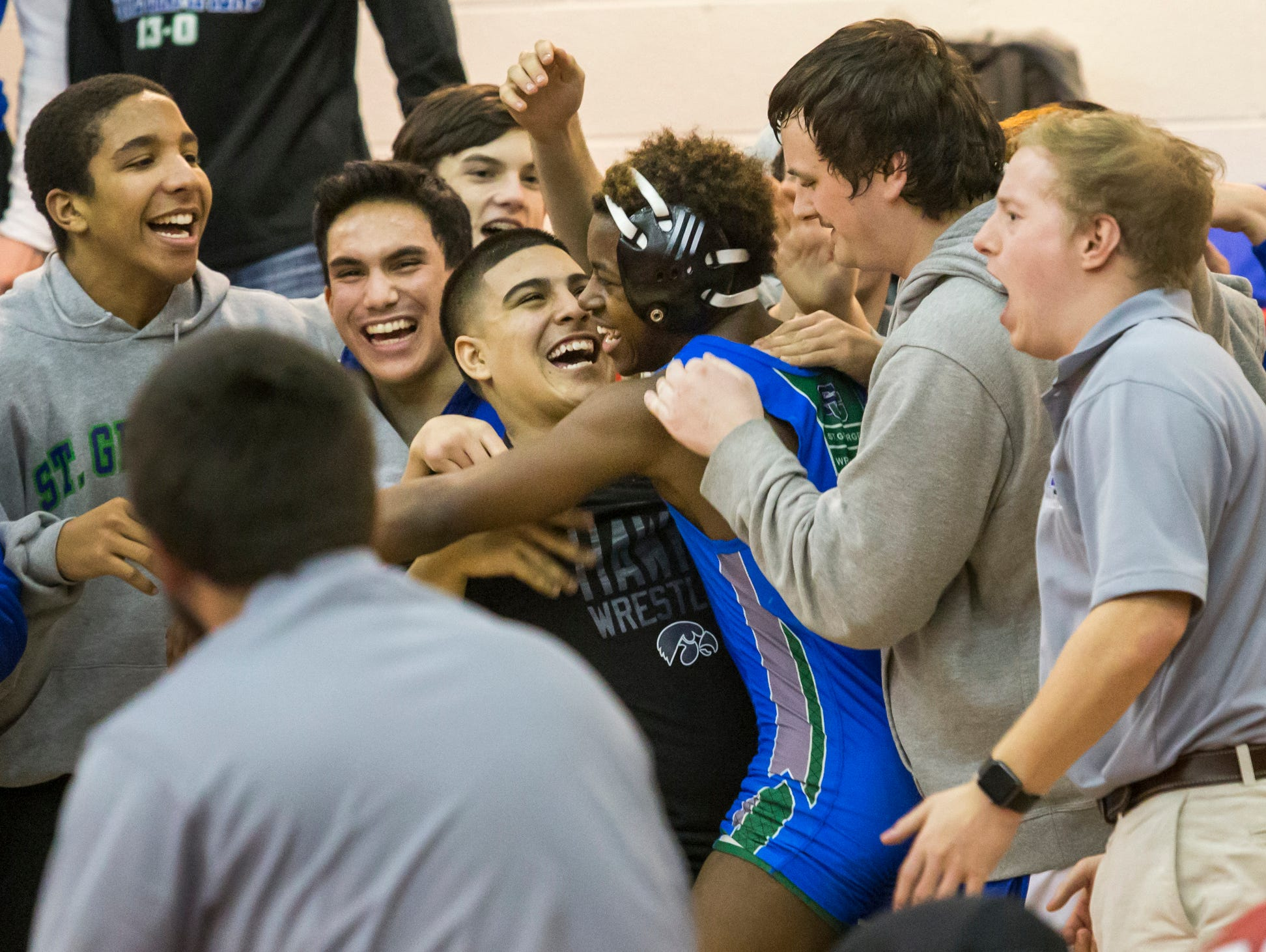 milford pins down div ii state wrestling title usa today high right