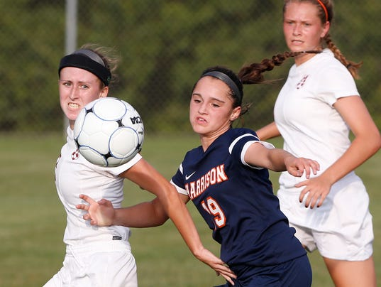 LAF McCutcheon vs Harrison girls soccer