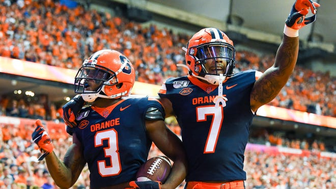The Syracuse defense has a new coordinator to fix last year's struggles, but the Orange also have defensive back Andre Cisco (7), who is a pre-season All-American.
