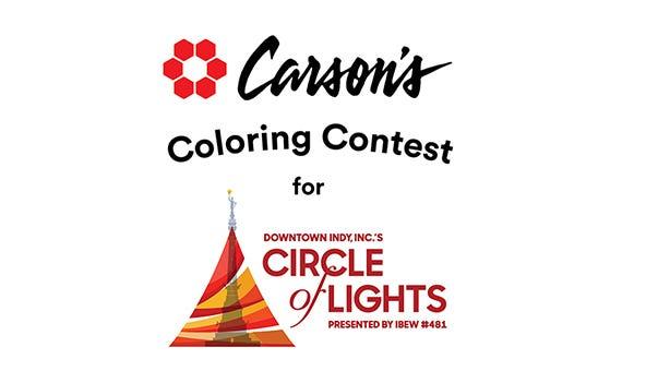 Carson's Coloring Contest