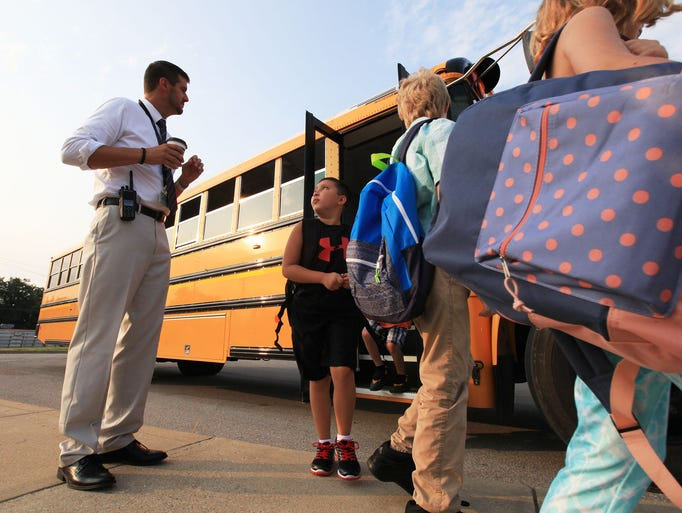 First day of school in West Clark School District