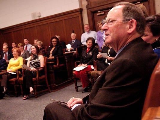 Charles Scott Sworn In