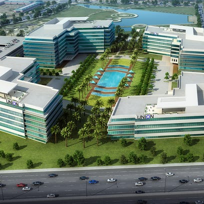 Huge office campus planned for Mesa's Riverview District