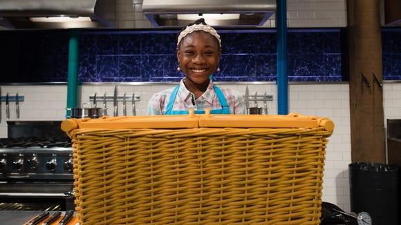 Junior chefs, Taliah Dancil, Basket, Round 1, As seen on Food Network's Chopped Junior, Season 4