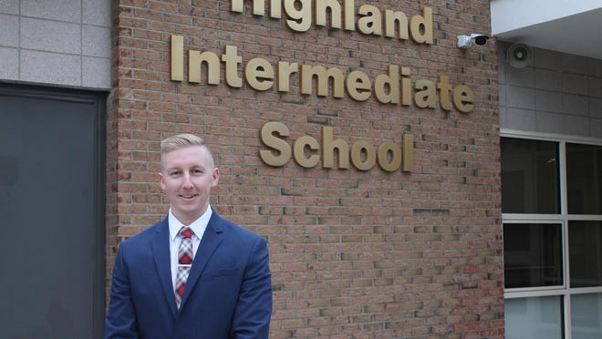 Highland Elementary School (HES) welcomed Matthew Darling as its new assistant principal.