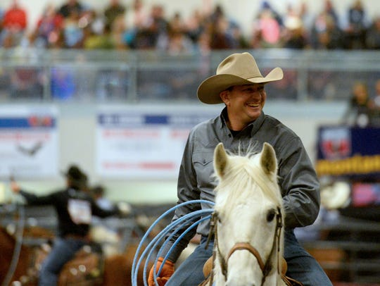 Kory Mytty of Lolo has been a familiar figure in the team roping for 25 years at the Montana Pro Rodeo Circuit Finals. This weekend Mytty will be paired with old friend Shane Schwenke in the event.