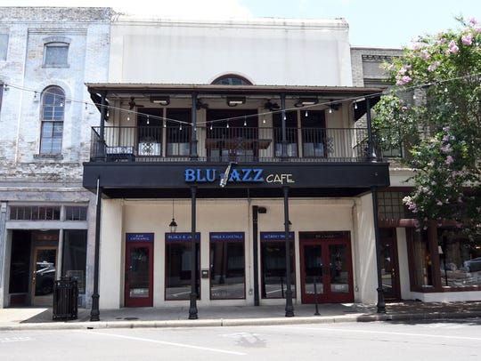Blu Jazz cafe has moved into the old Brownstones location