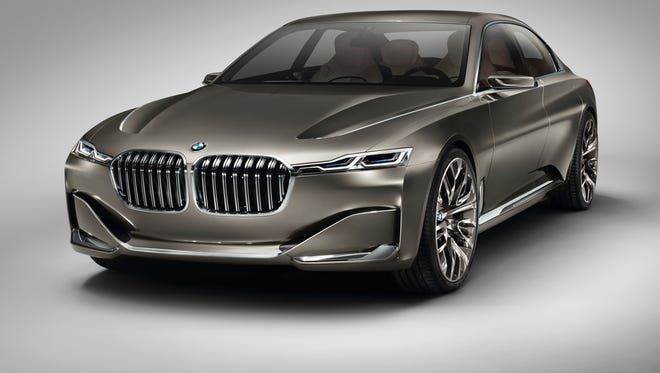 BMW is showing a car that could become a new segment, the 9 Series