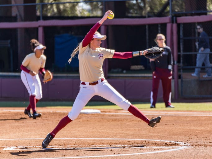 Florida State's softball team defeats Mississippi State