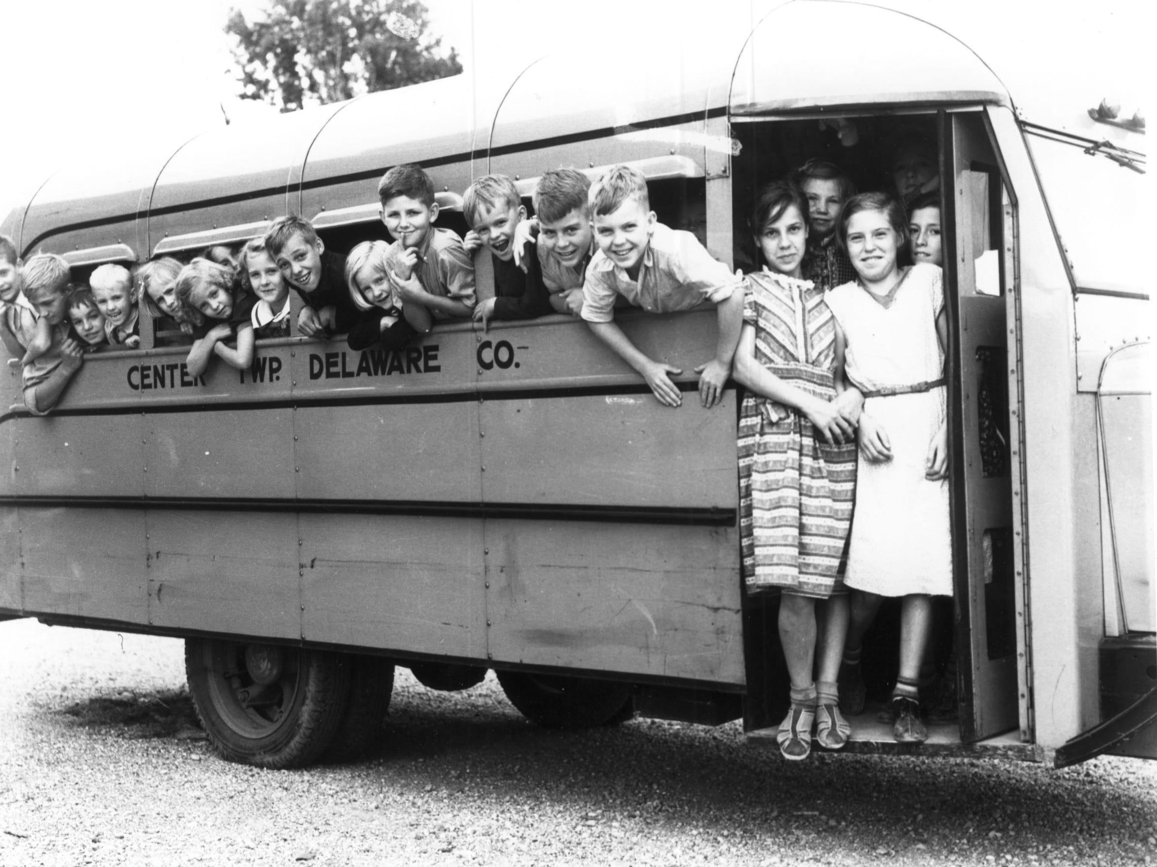 Center Schools school bus