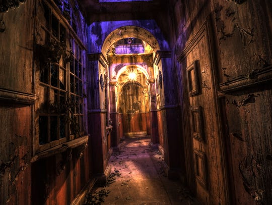 Hallway at Brighton Asylum