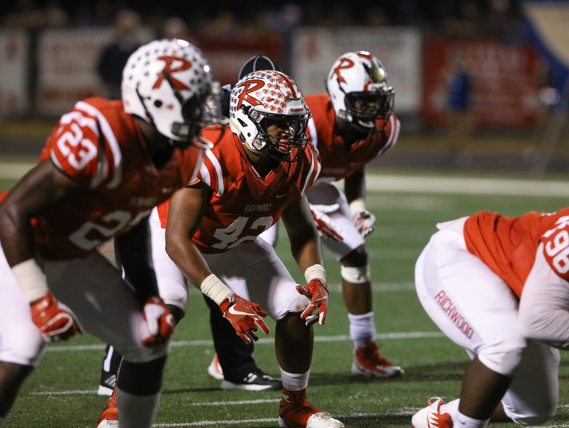 Richwood shook off a slow start on defense and is allowing just 16 points per game. The Rams have two shutouts on their resume and have allowed eight points-or-less six times.