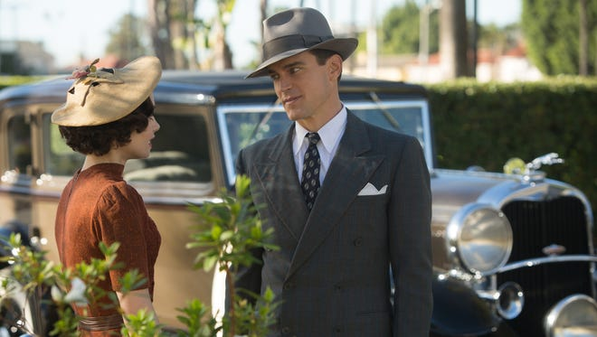 """Matt Bomer (right, with Lily Collins) stars in """"The Last Tycoon."""""""