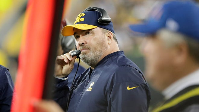Packers head coach Mike McCarthy could be on the hot seat with the Packers' record below .500.