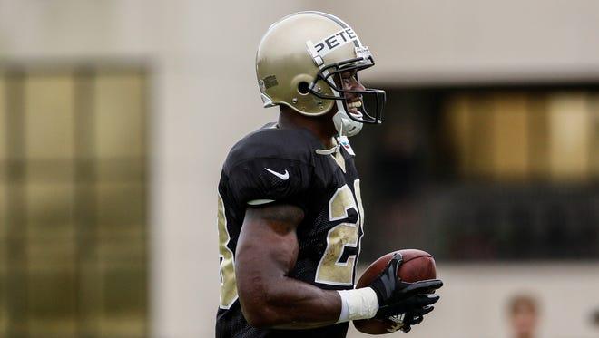45. Adrian Peterson, RB, New Orleans Saints