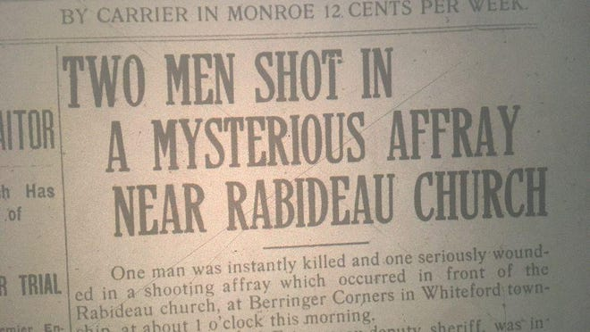 Image of The Monroe Evening News from June 1920