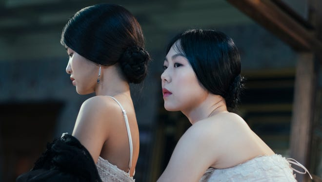"Kim Tae-ri (left) and Kim Min-hee in ""The Handmaiden,"" an Amazon Studios/Magnolia Pictures release."