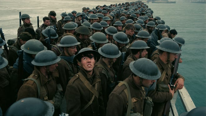 Allied soldiers brace for German attack in 'Dunkirk.'