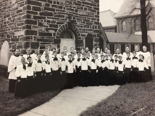 Choir of men and boys, 1933.