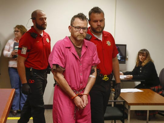Scott Greene, who is accused of killing two metro Des