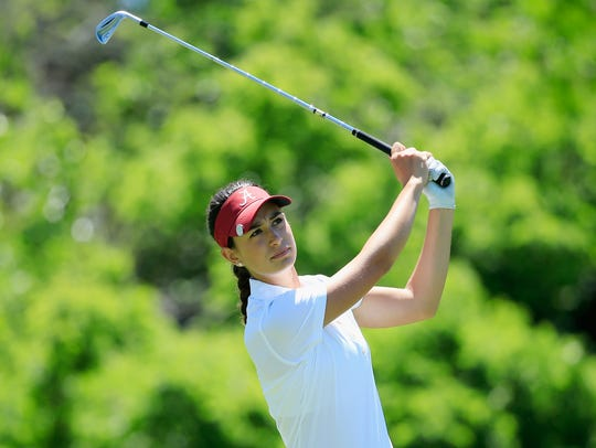 Rookie Cheyene Knight has broken par in 11 of the 15 rounds she's played on the Symetra Tour this season.