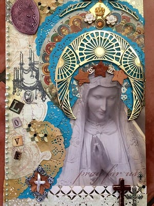 The Respite offers wine, art and the Rosary.