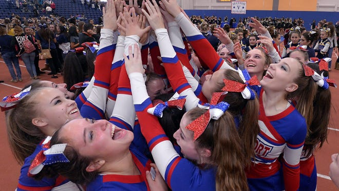 Fairport finished first overall in Division I large schools at the at the inaugural NYSPHSAA championships last weekend.