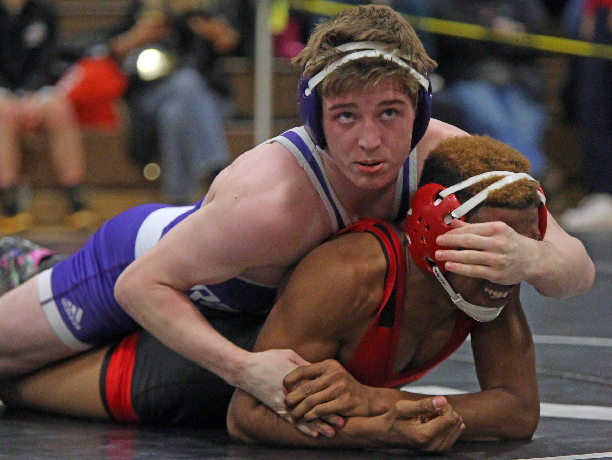 New Rochelle junior Jake Logan (top) is a 2017-18 lohud Mean 15 selection.