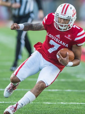 UL quarterback Andre Nunez will get his first start as a Ragin' Cajun on Thursday night against Texas State.