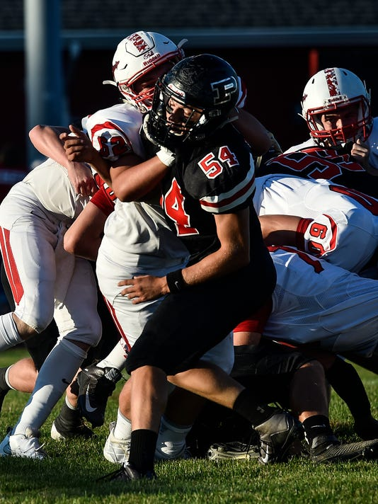 Chase Creeger Pleasant football