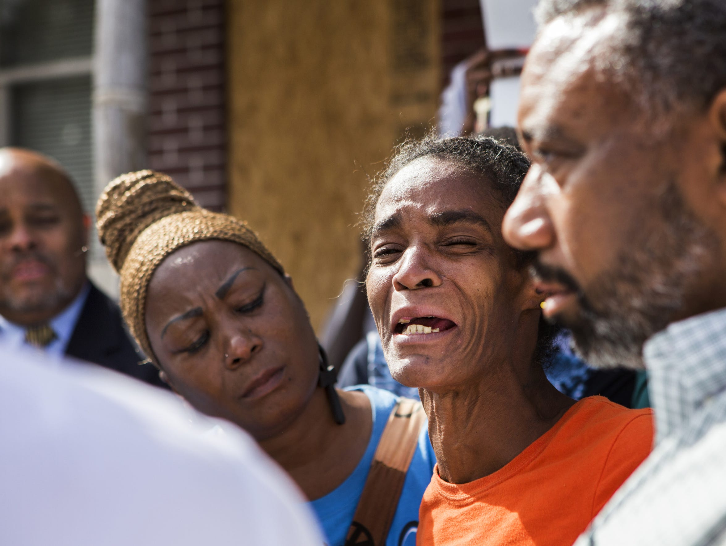 Phyllis McDole, mother of Jeremy McDole, describes