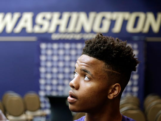 Washington guard Markelle Fultz has as much weight on his shoulders as any freshman in the country.
