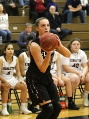 Morgan Gentile has averaged 13 points and 6.7 rebounds