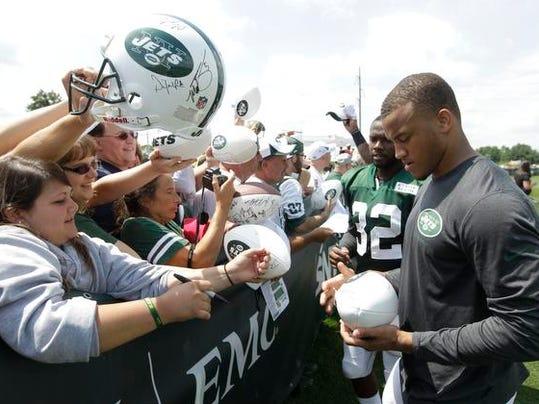 Jets autographs
