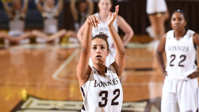St. Bonaventure sophomore forward Miranda Drummond has averaged 12.6 points and 5.2 rebounds per game through 13 games. She has made 48 percent from the floor and 37 percent from behind the 3-point line.