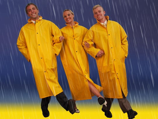 Singin' in the Rain is being performed at the Grosse