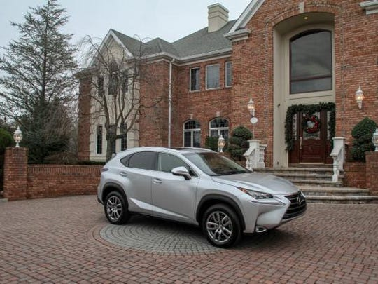 The Lexus NX200t Crossover at 10 Old Stable Way in