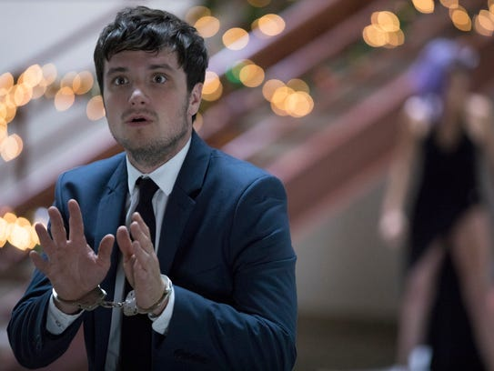 Josh Hutcherson stars in 'Future Man' on Hulu.