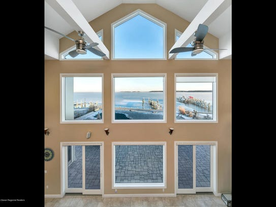 This home features customized Anderson windows and