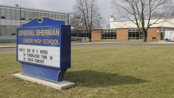 The current General Sherman Junior High School