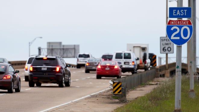 Interstate 20.