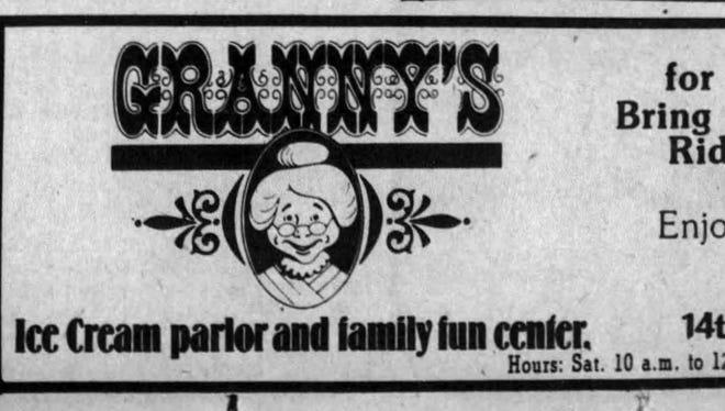 Granny's Ice Cream Parlor preceded Gigglebee's in Sioux Falls.